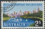 SG 293 ACSC 335d. 2s Olympic Games, Melbourne 1954 variety single (AE1/323)